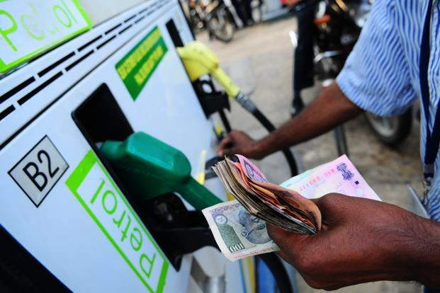 The hike comes on the back of a 37 paise increase in petrol rate effected on 1 October. Photo: Pradeep Gaur/Mint