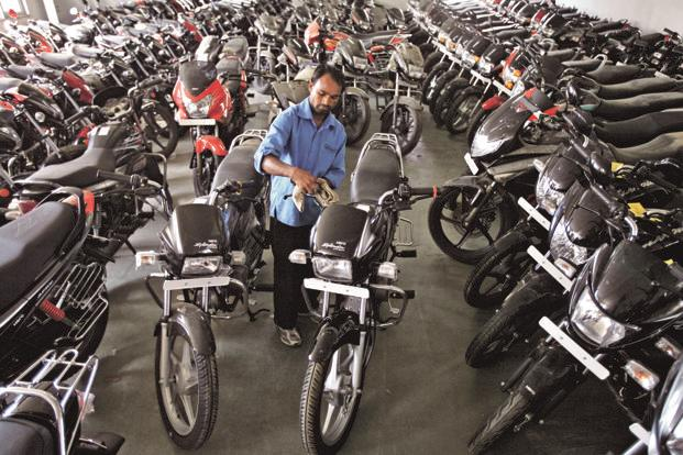 Hero's 11% year-on-year jump in sales for the month of September is the highest sales ever clocked by the motorcycle manufacturer. Photo: Reuters