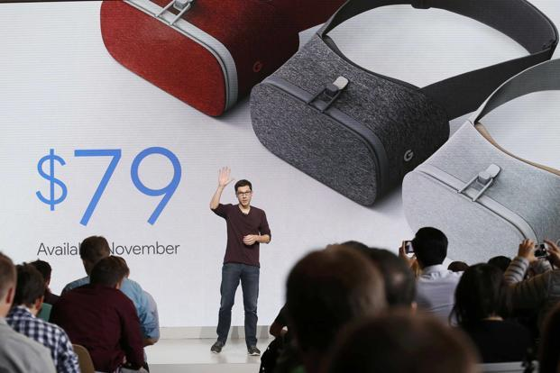 The launch of the VR headset coincides with the release of Daydream, software that Google hopes will replicate the far reach of its Android mobile operating system. Photo: Reuters