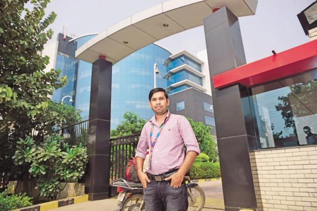 Hari Das, senior engineer at IBM in Noida. Photo: Pradeep Gaur/Mint