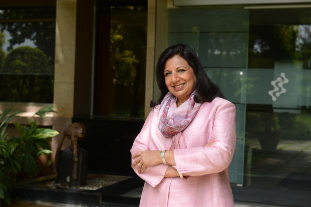 Kiran Mazumdar-Shaw, chairperson and managing director, Biocon. Photo: Hemant Mishra/Mint