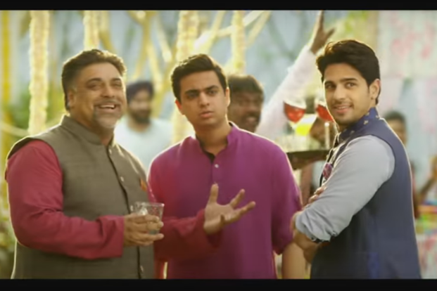 A still of Rohan Joshi (centre) in 'Baar Baar Dekho'. Joshi agrees that Bollywood has found a new talent pool across the board, from actors to writers, to tap into from the Internet.