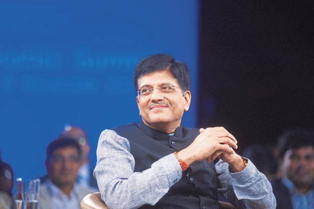 Piyush Goyal noted that it is of prime importance to achieve the goal of 'One Nation, One Grid, One Price' at the earliest and to create a robust transmission grid network where affordable power is seamlessly available to the common man throughout the nation, at one price. Photo: Ramesh Pathania/Mint