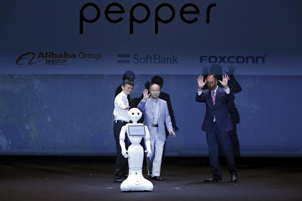 "Pepper is a key plank in SoftBank founder Masayoshi Son's vision of future technology centered on the ""internet of things"". Photo: Reuters"