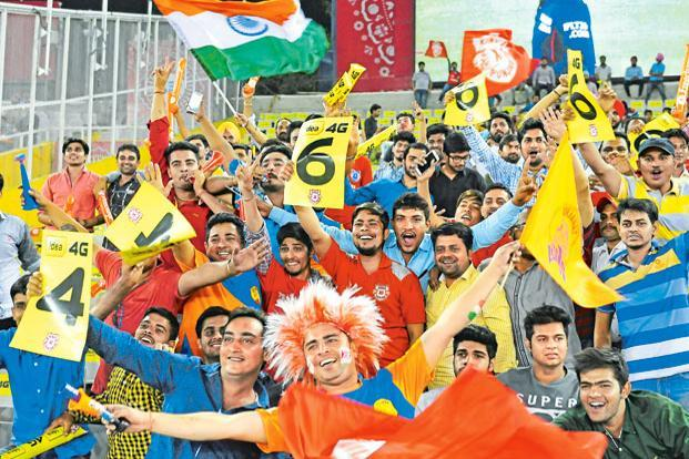 The digital rights for the IPL, India's most popular sports event, will be auctioned after the completion of the 2017 season, IPL's 10th edition. Photo: Hindustan Times