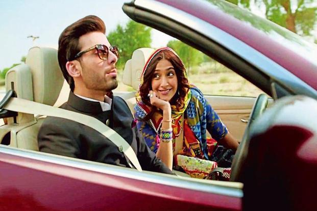 Pakistani actor Fawad Khan in 'Khoobsurat'.