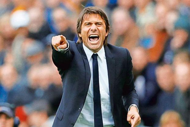 "Antonio Conte: ""I am a passionate man. I live the game with great passion. I play with my players and I want to feel this from them."" Photo: Reuters"