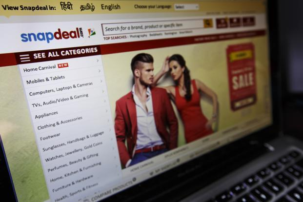 Snapdeal weekly ad insertions jumped by 57% from 11,536 (between 17 and 23 September) to 18,177 (between 24 and 30 September), according to BARC data. Photo: Bloomberg