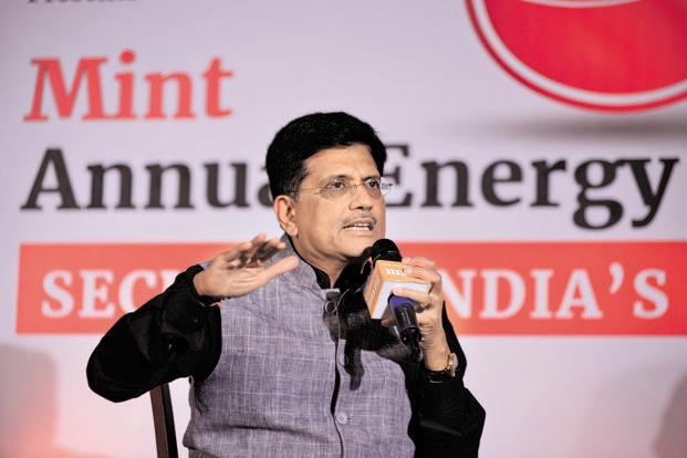 Power minister Piyush Goyal says he is trying to sort out issues plaguing the hydro sector and once that is done, he will be able to attract more investments. Photo: Pradeep Gaur/Mint