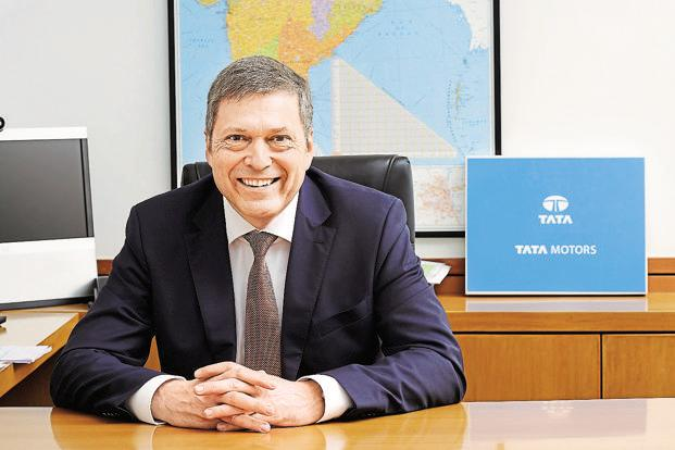 Guenter Butschek, managing director and chief executive officer, Tata Motors.