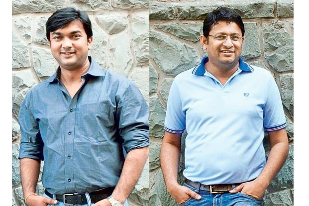 Saurabh Saxena (left) and Anil Gelra, founders of Holachef.