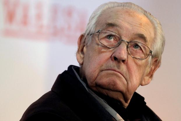 A file photo of Oscar-winning film director Andrzej Wajda. Photo: Reuters