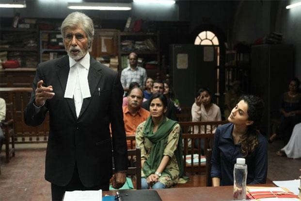 Amitabh Bachchan in a still from 'Pink'