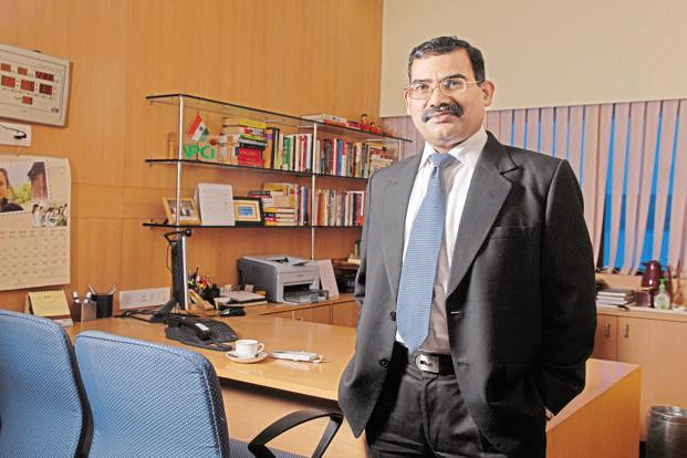 A.P. Hota, managing director and chief executive, National Payments Corp. of India. Photo: Hemant Mishra/Mint