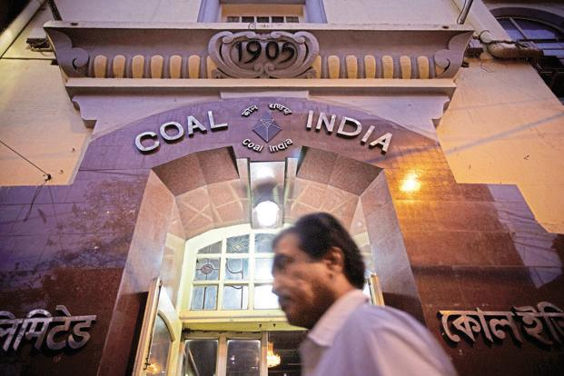India is eyeing 1.5 billion tonnes of coal production by 2020, of which 1 billion tonnes would come from Coal India. Photo: Bloomberg