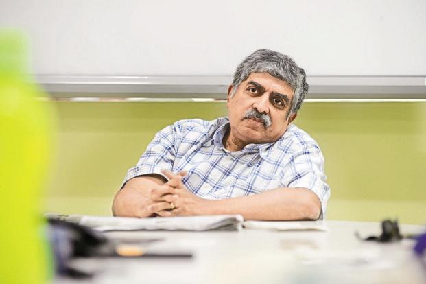 Nandan Nilekani, former chairman of UIDAI. Photo: Hemant Mishra/Mint