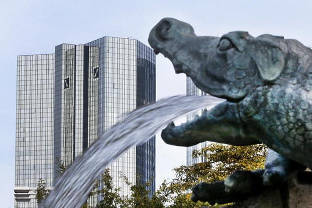 Deutsche Bank has seen fees from global equity products take the biggest hit in the first nine months of year with a 45% decline to $328 million. Photo: AP
