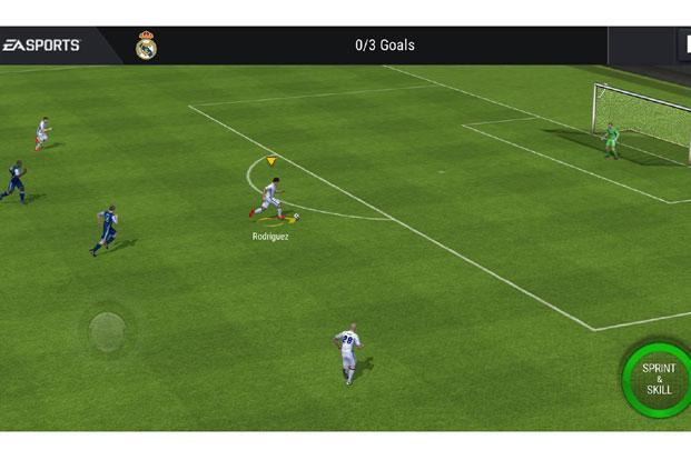EA Sports has downgraded the graphics for FIFA Mobile