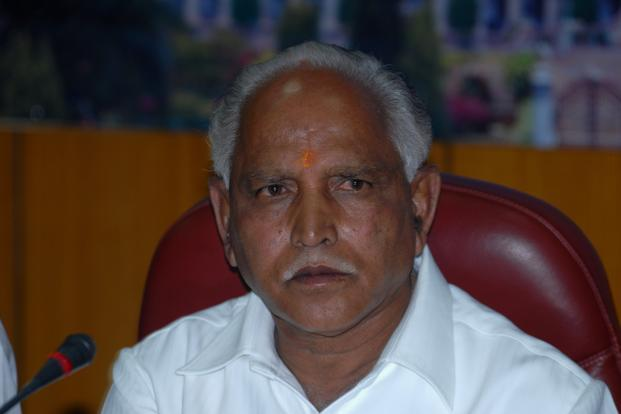 Analysts say the induction of K. Shivaram, a move initiated by B.S. Yeddyurappa, will be used as a 'front' in a cold war between him and state opposition leader K.S. Eshwarappa. Photo: Hemant Mishra/Mint