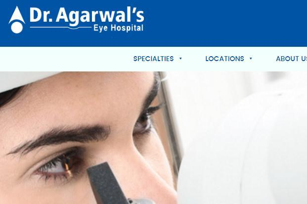 Dr Agarwal's Eye Care has almost 70 eye care centres, mostly  in south India.