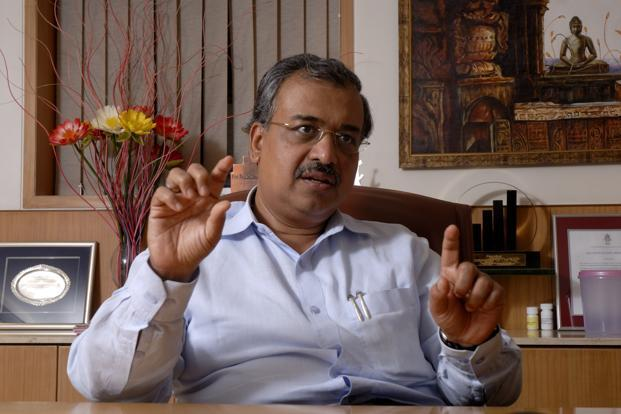 A file photo of Dilip Shanghvi, founder of Sun Pharmaceuticals. Photo: Mint