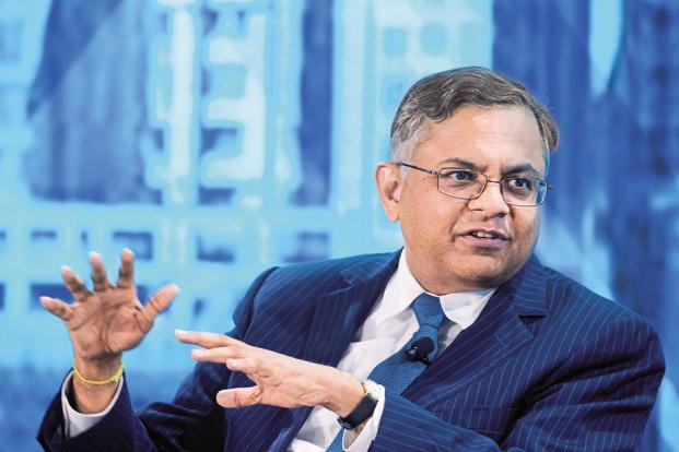 TCS CEO Nataran Chandrasekaran. The IT firm warned in September that its financial sector clients were holding back on discretionary spending. Photo: Bloomberg