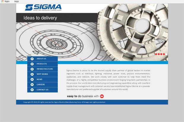 Sigma Electric, founded by Sajjan Agarwal, caters to customers in the North American and European markets through exports from its Indian plants.