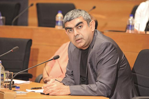 Infosys CEO Vishal Sikka. Photo: Hemant Mishra/Mint