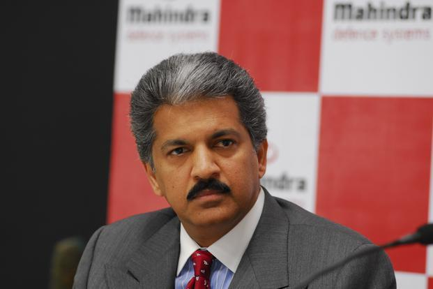 A file photo of Mahindra Group managing director Anand Mahindra.  Photo: Mint