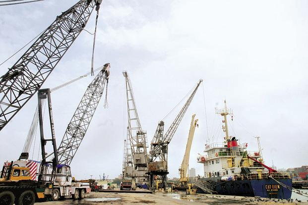 A file photo of the Mumbai Port Trust. Photo: Ashesh Shah/Mint