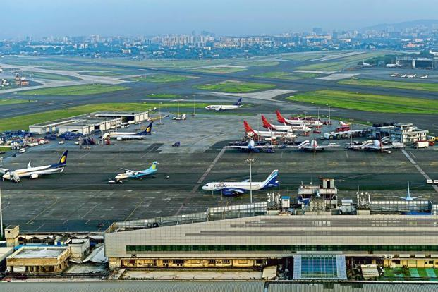 Chhatrapati Shivaji International Airport has only one runway (as one-third of the airport land is occupied by slum squatters), yet it manages around 50 flights during peak hours. Photo: