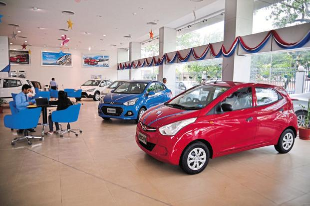 This special price offer is the most aggressive stance taken by Hyundai, India's second largest carmaker, to drum up volumes in a market where rival Maruti Suzuki is swiftly widening its lead. Photo: Pradeep Gaur/Mint