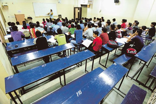 Kota, Rajasthan-based coaching centre Resonance Eduventures prepares students for admission to engineering and medical colleges. Photo: Pradeep Gaur/Mint