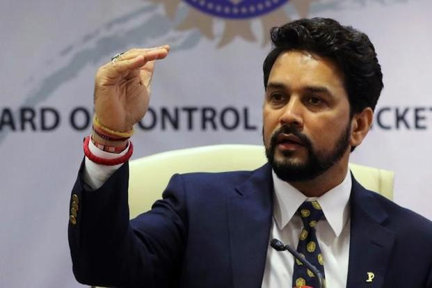 Anurag Thakur is the president of the Board for Control of Cricket in India. Photo: Reuters