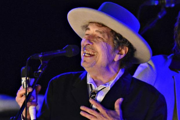Bob Dylan, 75, whose lyrics have influenced generations of fans, is the first songwriter to win the literature prize. Photo: Reuters