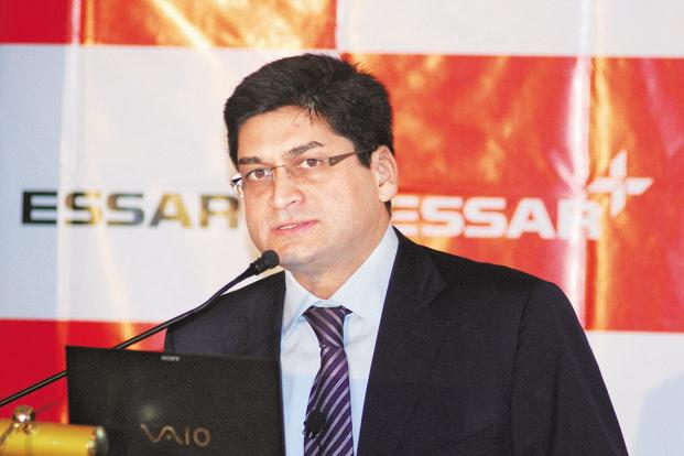File photo. Essar Group CEO Prashant Ruia said the parent company's debt would be cut by some $5 billion and a further $5 billion would go towards trimming debt at the operating company level. Photo: Mint