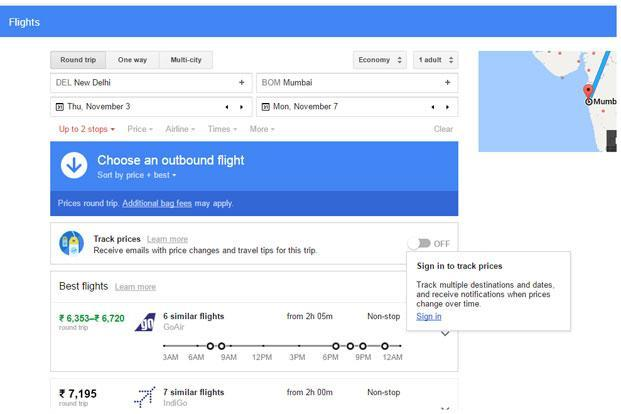 Google's new web tool Flights can help users find flights at the best available price.