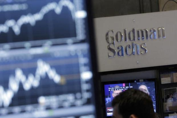 Goldman Sachs's stock rose 1.6% to $171.75 in early trading in New York. Photo: AP