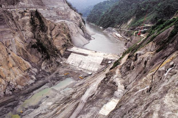 The northeast has a hydropower potential of around 63,000MW, of which about 50,000MW is in Arunachal Pradesh, according to government estimates. Photo: Hindustan Times