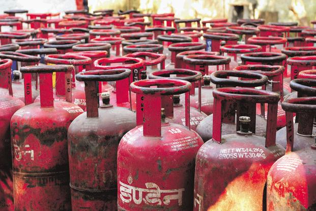 A 5kg composite cylinder will cost Rs2,000-3,000. Re-fill costs will be in line with those of a 5kg steel cylinder. Photo: Ramesh Pathania/Mint