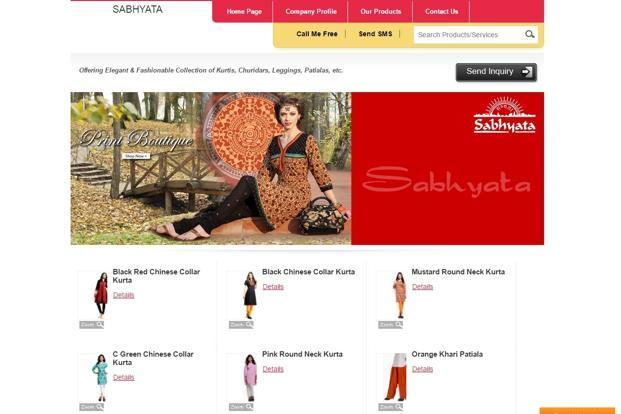 The company sells apparels priced between <span class='WebRupee'>Rs.</span>449 and <span class='WebRupee'>Rs.</span>2,500 through its 40 stand-alone stores and online marketplace Jabong. Sabhyata sells traditional apparels for both women and men.