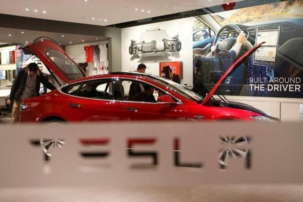 The Model 3 is the key to Tesla's plan to expand to a wider market for its electric cars. Photo: Reuters