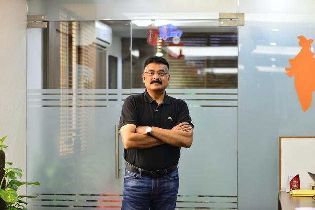 TA Krishnan, chief executive of e-commerce logistics firm Ecom Express. Photo: Priyanka Parashar/Mint