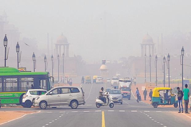 Delhi was ranked the world's most polluted city in 2014 by the World Health Organization. Photo: Hindustan Times