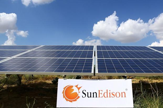 SunEdison had 550MW of projects under construction in India during the second quarter as part of a 1.7-gigawatt project pipeline. Photo: PR News Foto