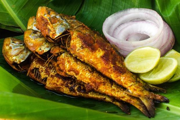 A fish delicacy from the Goan Food Festival.