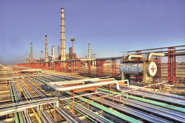 Essar Oil's Vadinar refinery in Gujarat, part of the $13 billion acquisition by Russia's Rosneft.