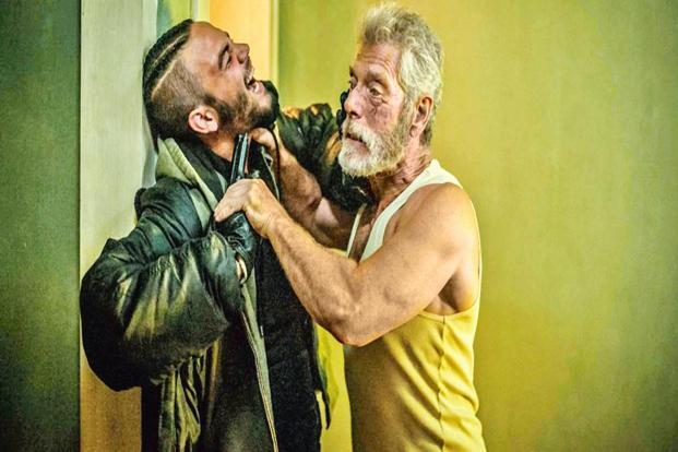 A still from the film 'Don't Breathe'.