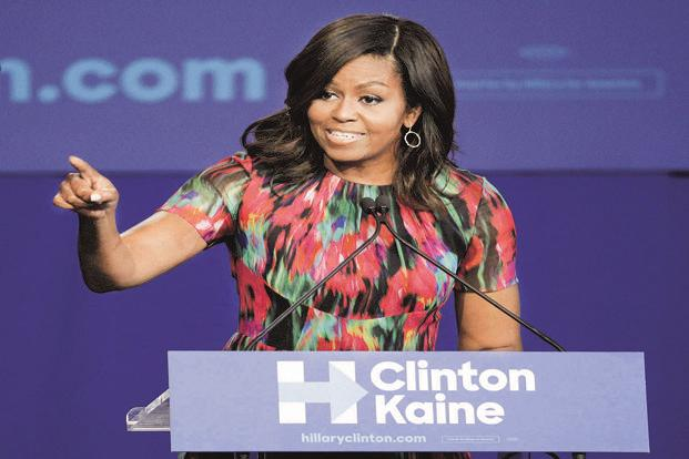 Listen to Michelle Obama, get organized, stay put, and stun the haters with love. Photo: PTI