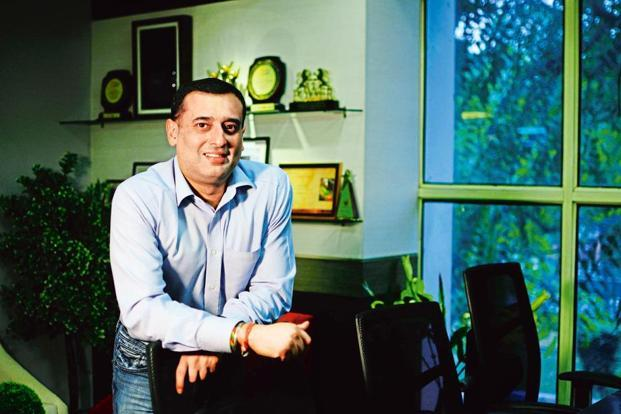 Dabur India vice-chairman Amit Burman. Photo: Pradeep Gaur/Mint
